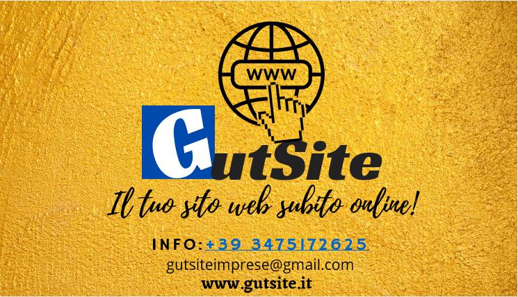 Gutsite – il tuo sito web subito online!